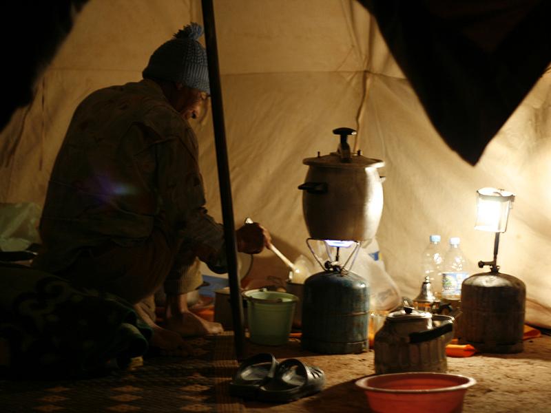Camping in Zagora
